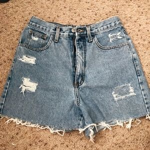 Guess Vintage Jean High Waisted Shorts